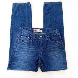 Levi's 511 slim medium wash boys jeans 12 reg